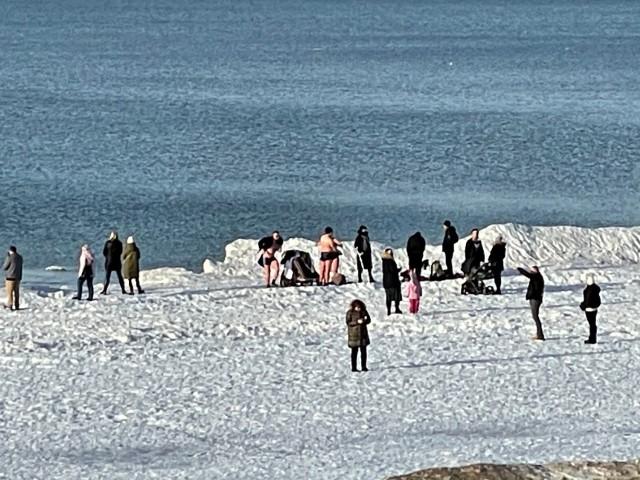 Turyści w Międzyzdrojach