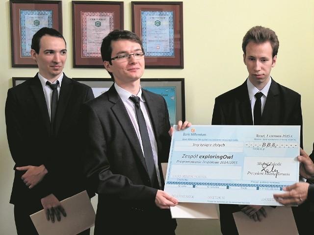 Zwycięski zespół tworzą: Bartosz Górski, Kamil Górski, Marek Jabczyński, Karol Mierzejewski i  Krzysztof Szajerski.