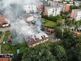 Pożar w przychodni Medyk w Praszce. Przychodnia musi się tymczasowo przenieść [ZDJĘCIA]