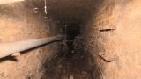 Oto podziemia szpitala w Obrzycach. Tymi tunelami włamywacze dostali się do kościoła i go splądrowali