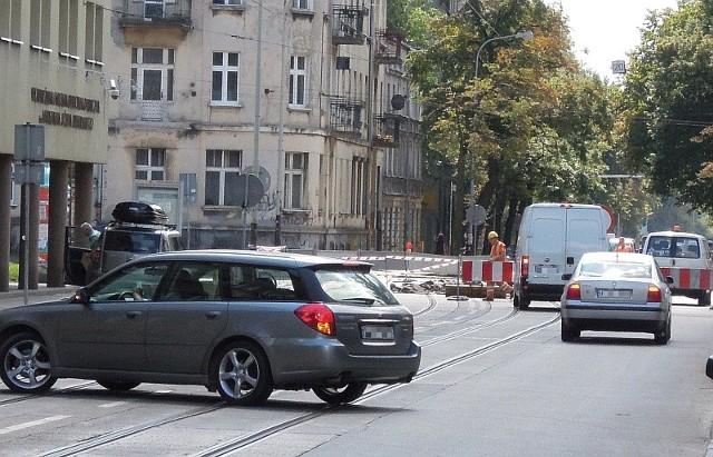 Remont skrzyżowania Kopernika Gdańska