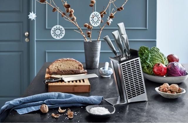 Noże w stojakuSztućce i noże WMF jako wizytówka eleganckiej kuchni