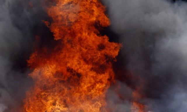 Pożar w fabryce laminatów nastąpił po wybuchu