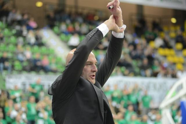 Arkadiusz Miłoszewski w ostatnich sezonach pracował jako drugi trener Zastalu Zielona Góra