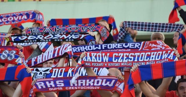Kibice Rakowa na ostatnim meczu na stadionie (2 października 2020)