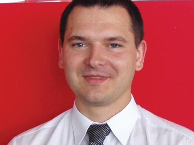Karol Dobrzycki, kierownik działu sprzedaży w salonie Toyota Auto Park