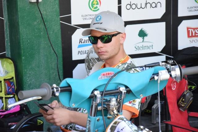 Aleksandr Łoktajew wywalczył w meczu z MRGARDEN GKM-em Grudziądz zaledwie jeden punkt.