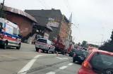 Wypadek w Chorzowie: dwa auta i autobus zderzyły się na Armii Krajowej