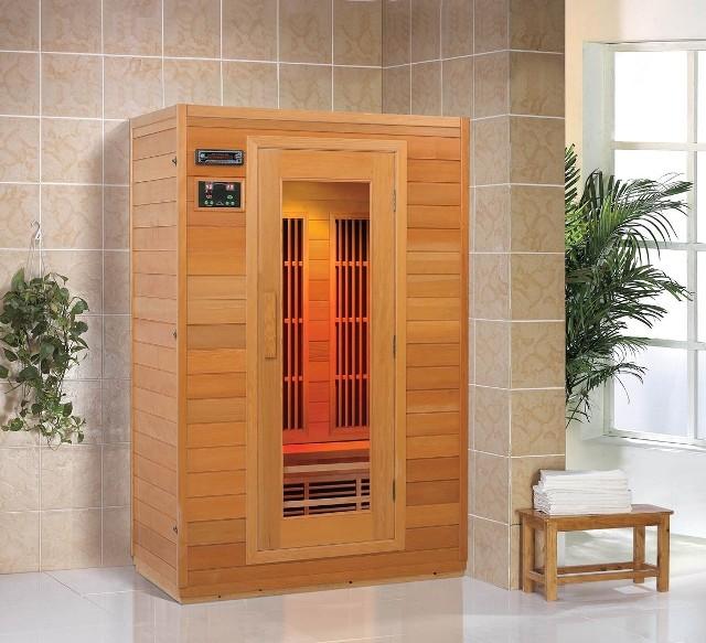 infrasaunaUrządzenie znacznie szybciej osiąga docelową temperaturę niż tradycyjna sauna.