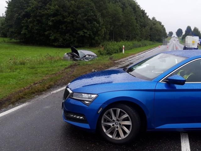Wypadek w Kolnie