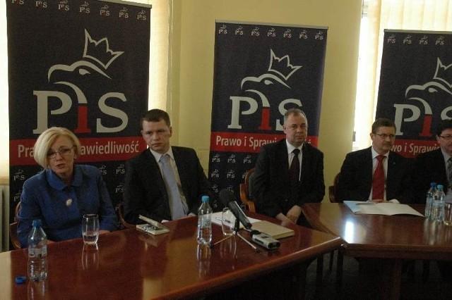 Gośćmi posła Wojciecha Zubowskiego byli między innymi posłanka Marzena Machałek i radny wojewódzki Krzysztof