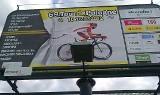 Grudziądzanin  Adrian Kurek w Tour de Pologne - także na bilboardach!