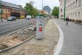 Poznań: Rozpoczął się kolejny etap przebudowy Grunwaldzkiej - ścieżka rowerowa i światła przy Śniadeckich coraz bliżej [ZDJĘCIA]