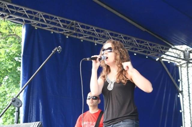 Gwiazdą tegorocznego festiwalu w Nagoszewce (i jednym z jurorów) była Viola Brzezińska.