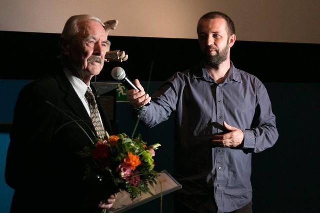 Witold Giersz, laureat Honorowej Lamy 2015. Spotkania z nestorem polskiej animacji są w niedzielę w NCPP i poniedziałek w OTLiA.
