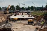 Budowa podziemnej drogi w Nowym Centrum Łodzi wreszcie posuwa się naprzód