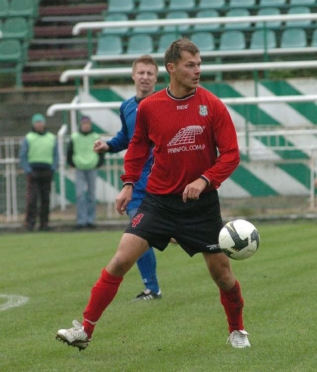 Mirosław Pokrywka (na pierwszym planie) jest kolejnym piłkarze Wisłoki, który myśli o zmianie barw.