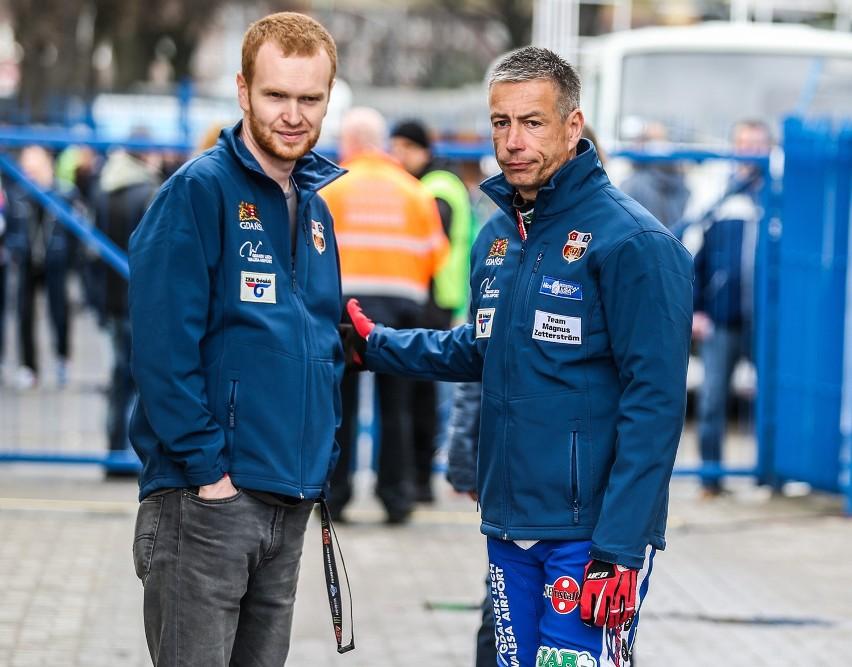 Magnus Zetterstroem z Renault Zdunek Wybrzeża Gdańsk apeluje do kibiców
