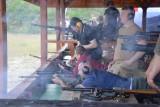 W Nietkowie strzelali do dwutonowego sejfu, aby pomóc osobom niepełnosprawnym