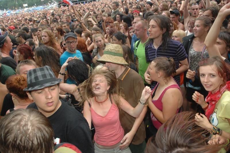 Na Przystanek Woodstock do Kostrzyna przyjeżdża co roku...