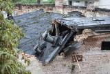 Katastrofa budowlana na Nadodrzu. Duża akcja służb ratunkowych [ZDJĘCIA]