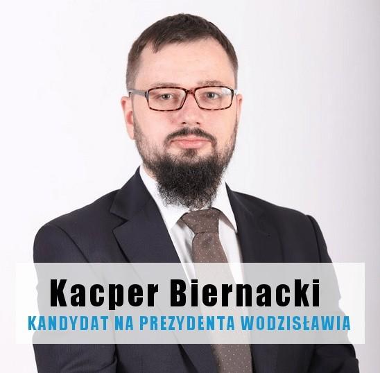 Kacper Biernacki kandyduje na radnego i prezydenta Wodzisławia Śl.