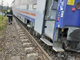 Tory na trasie Rybnik-Katowice naprawione. Oberwanie chmury podmyło tory. Pociągi wróciły na trasę