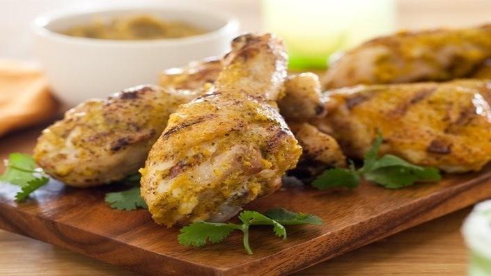 Grillowany kurczak z mango i wędzoną papryką...