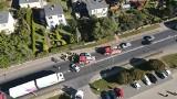 Motocyklista ranny w wypadku. Zdarzenie miało miejsce na DK92 pod Słupcą