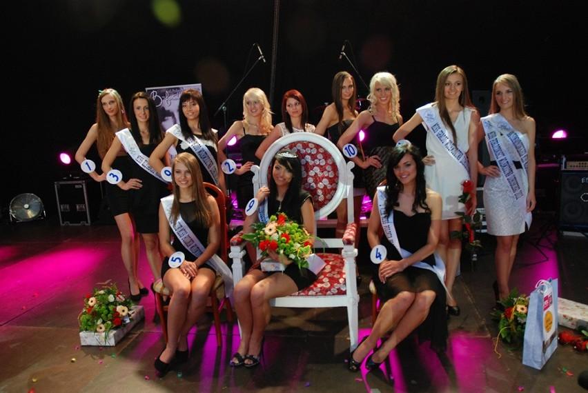 Finalistki konkursu Miss Polonia województwa lubuskiego 2012, który odbył się w Nowej Soli