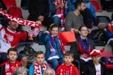 ME w amp futbolu Kraków 2021. Kibice na meczu Polska - Francja. Świetna atmosfera na trybunach Prądniczanki [ZDJĘCIA]