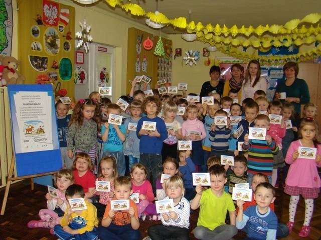"""Akcja Weź paragon w Przedszkolu Publicznym w Opatowie Akcja """"Weź paragon"""" w Przedszkolu Publicznym w Opatowie."""