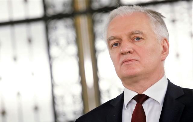 Jarosław Gowin – lider Porozumienia, które jest częścią Zjednoczonej Prawicy
