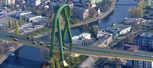 Nowy most nad Brdą będzie miał dwie jezdnie z dwoma pasami ruchu w każdą stronę