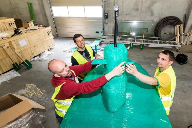 Łódź podwodna załogi ProNatura jest już praktycznie gotowa do Wielkiego Wyścigu Butelkowego, który już w przyszłą niedzielę na Brdzie!