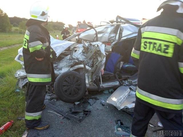 6 lipca 2017. Wypadek na autostradzie A4.