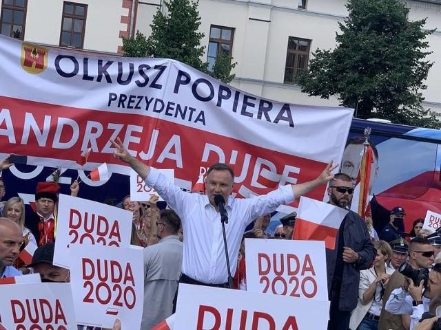 Andrzej Duda wygrał w powiecie wadowickim