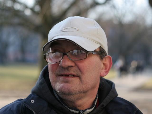 58-letni Leszek Dudziński.
