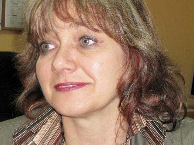 Grażyna Małecka, dyrektor szkoły leci do Włoch.