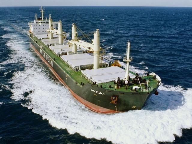 """To bliźniaczy statek """"Mazury"""". Tak będzie wyglądał statek """"Koszalin"""" - 190 m długości, 28,5 m szerokości, zanurzenie 10,4 m."""