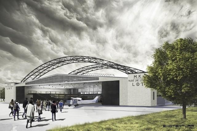 Kraków. Hangar w Czyżynach zostanie zmodernizowany [WIZUALIZACJE ...
