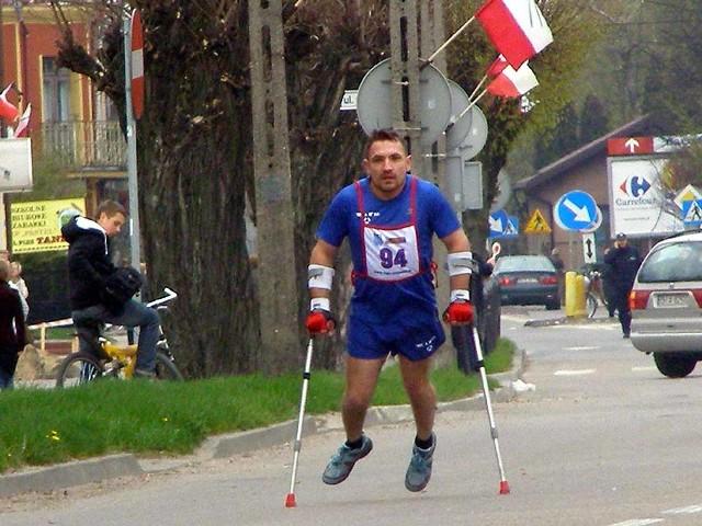 Swój udział w tegorocznym biegu zapowiedział - Robert Pawłowicz - znany jako Niezniszczalny