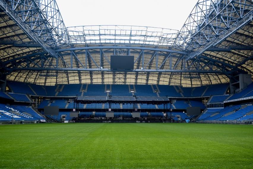 Na poznańskim stadionie rozgrywane są nie tylko mecze - w...