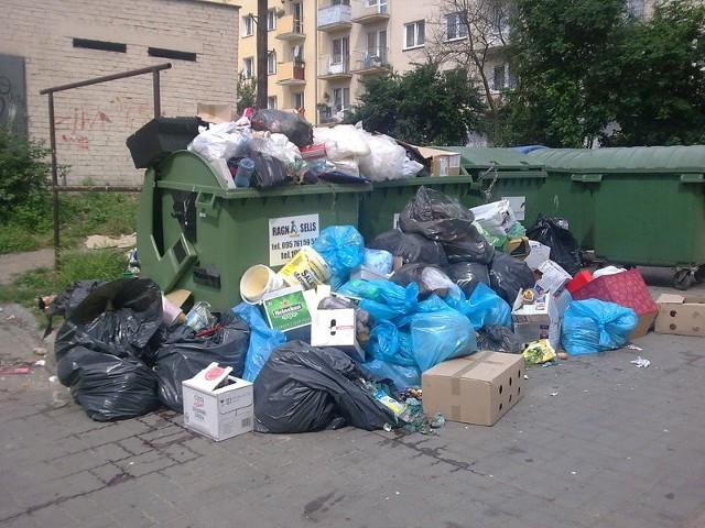 Tak ostatnio wygladają gorzowskie kubły na śmieci