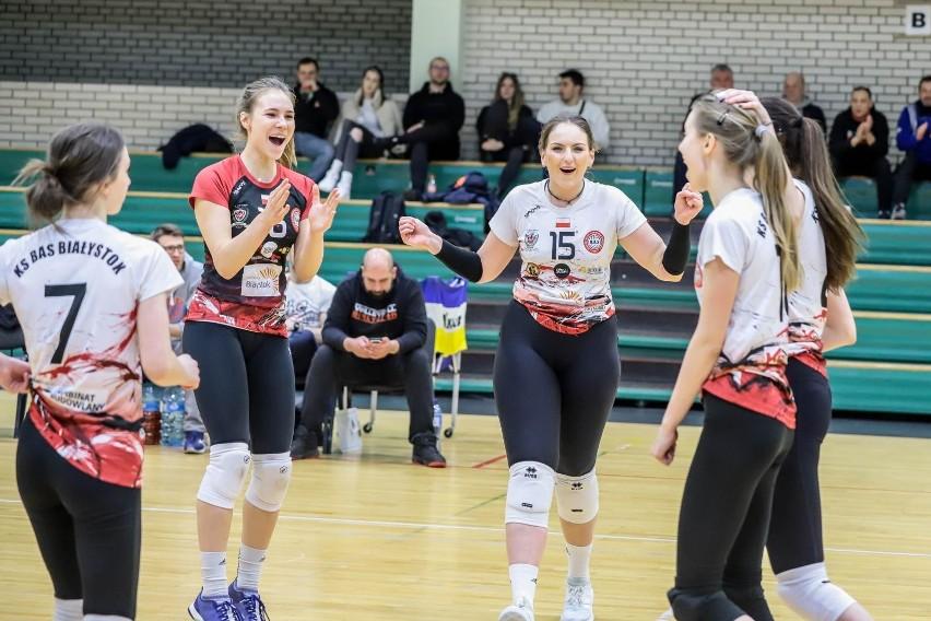 Siatkarki BAS KB Biąłystok zagrają w turnieju finałowym o...