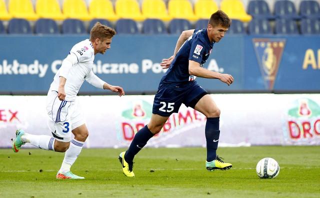 Daniel Dziwniel (z lewej) może wkrótce być kolegą klubowym Sebastiana Rudola (z prawej).