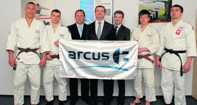 Firma Arcus zdecydowała się na wsparcie klubu dla młodych judoków