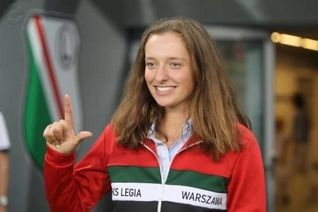 Iga Świątek do maja 2019 reprezentowała Legię Warszawa.