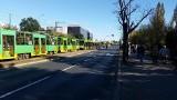 Rataje: Tramwaje stały przez godzinę