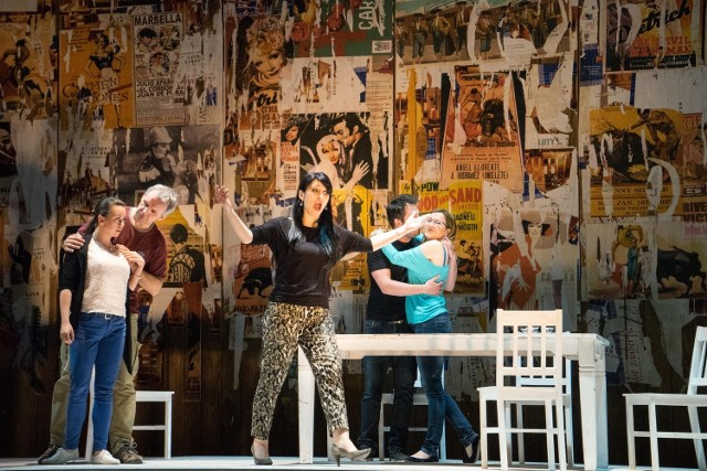 """W poznańskim Teatrze Wielkim trwają próby do premiery """"Carmen"""" Georgesa Bizeta. W roli tytułowej m.in. Małgorzata Pańko (na zdjęciu)"""